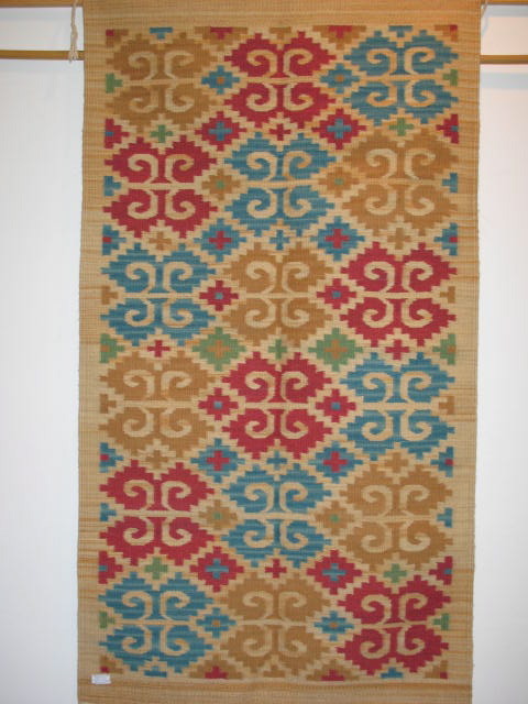 Caracol (Snail) Mexican Rug Pattern