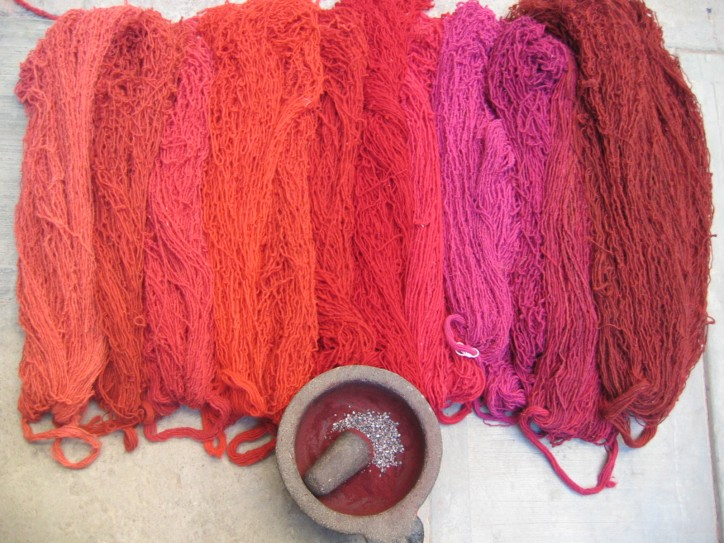 Shades of cochineal -- a full range of color