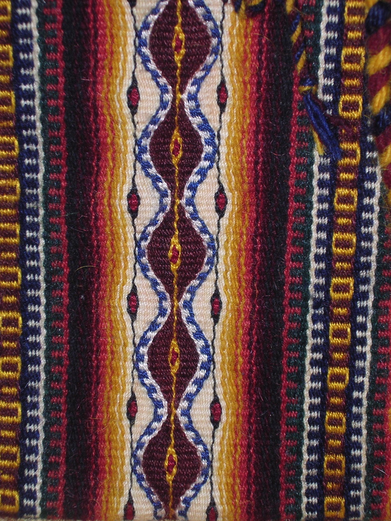 Mendoza Purse, detail