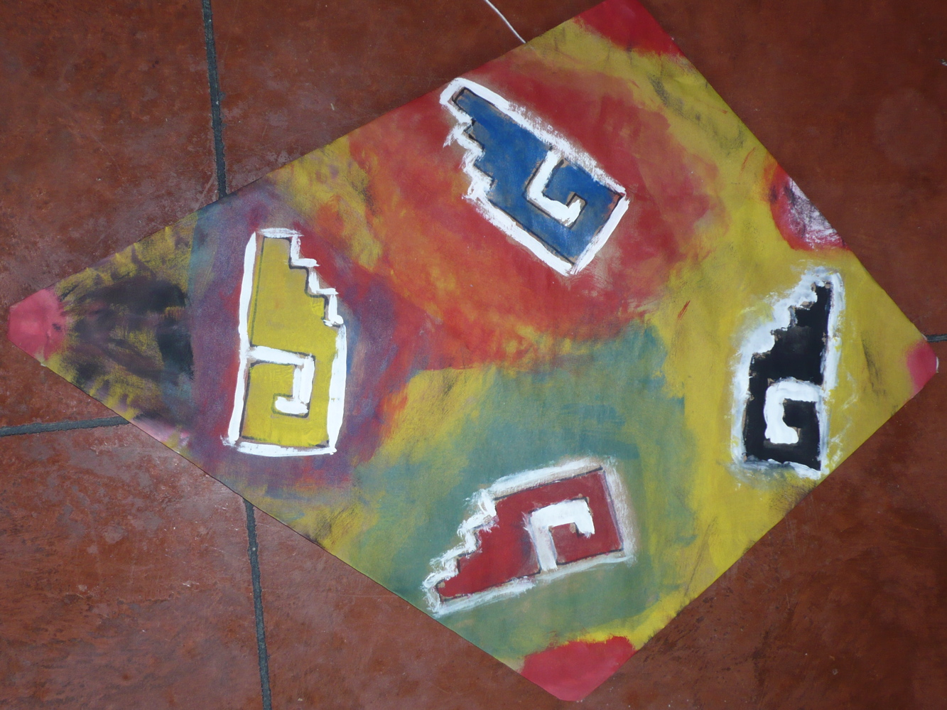 Eric's Kite with Zapotec Pattern