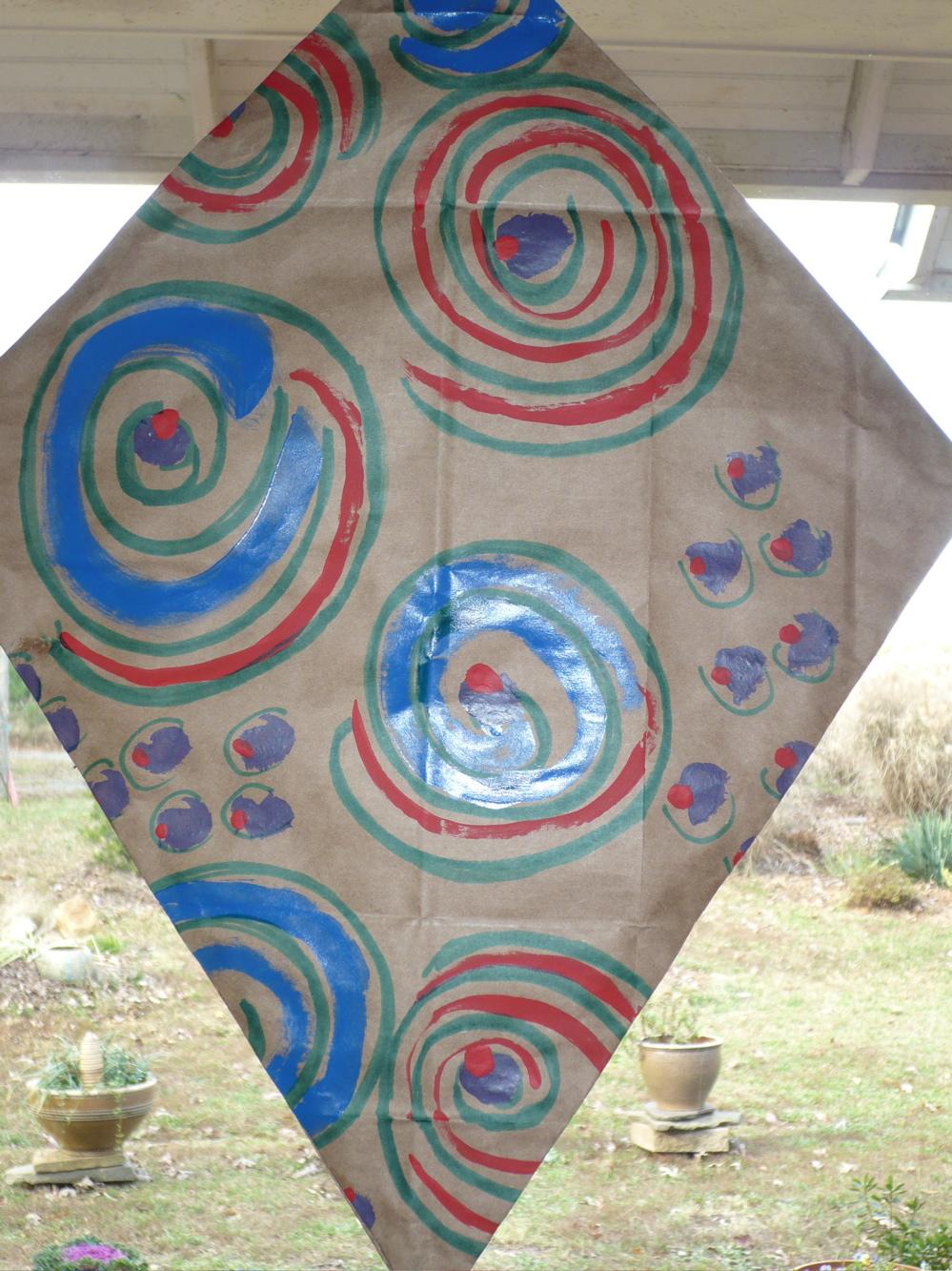 Norma's Swirl Kite