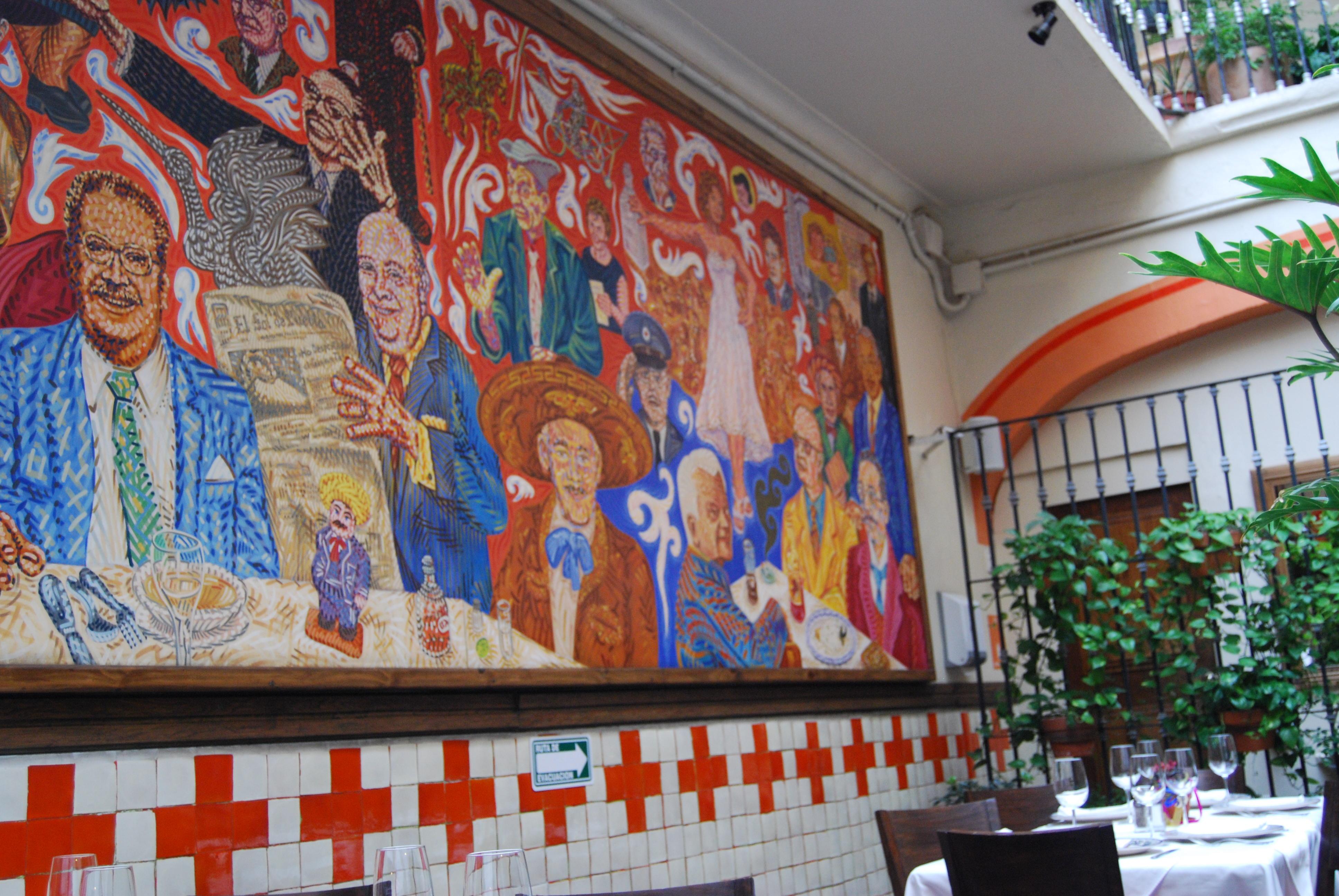 Dsc 0179 oaxaca cultural navigator norma schafer for El mural de los poblanos