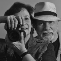 "Sam (left) and Tom Robbins art photographers lead summer 2011 ""Market Towns and Artisan Villages"" Oaxaca photo expedition"