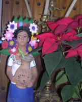 Aguilar Figure w Flowers
