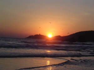 Sunset at Mazunte