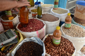 Argan oil, nuts photo by Norma Hawthorne