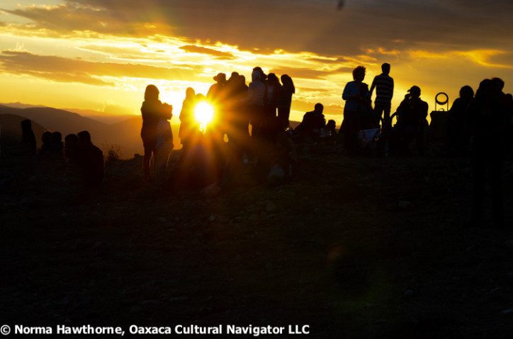 Sunset at Las Cuevitas 2014