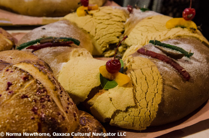 Celebrated and tasty Rosca de Reyes