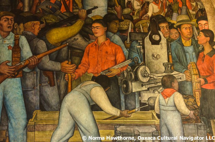 2016 looking for frida kahlo diego rivera mexico city for Diego rivera s most famous mural