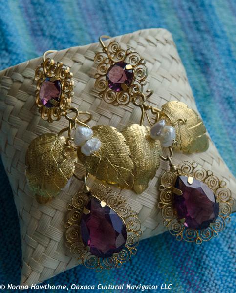 Jewelry Oaxaca Cultural Navigator Norma Schafer