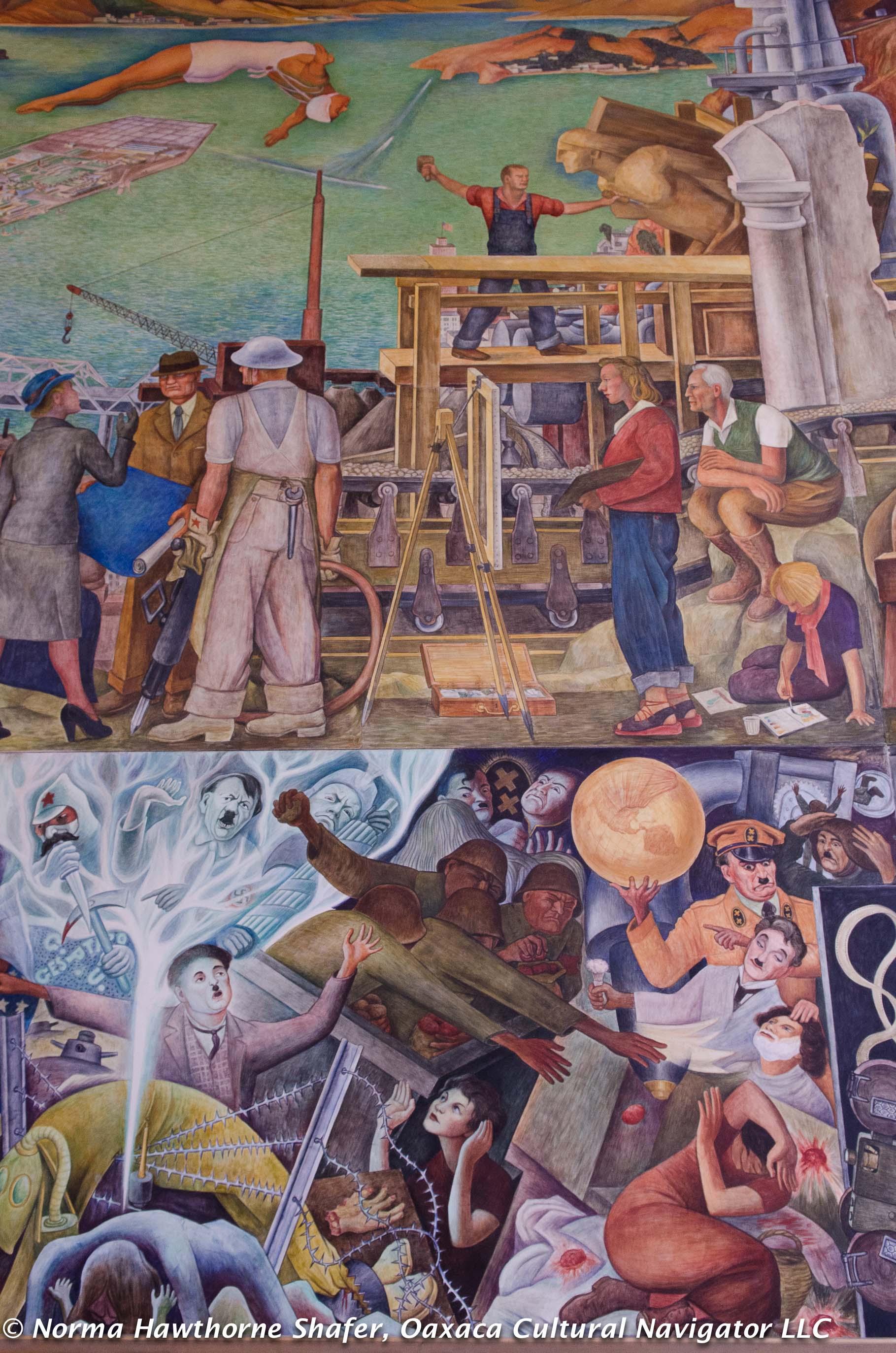 Rivera ccsf 11 for Diego rivera mural san francisco