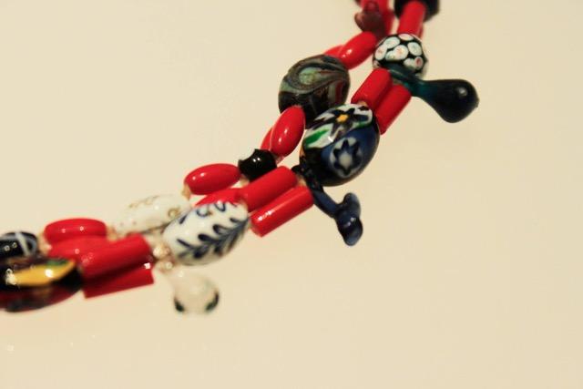 Quiatoni necklace, Museo Textil de Oaxaca collection